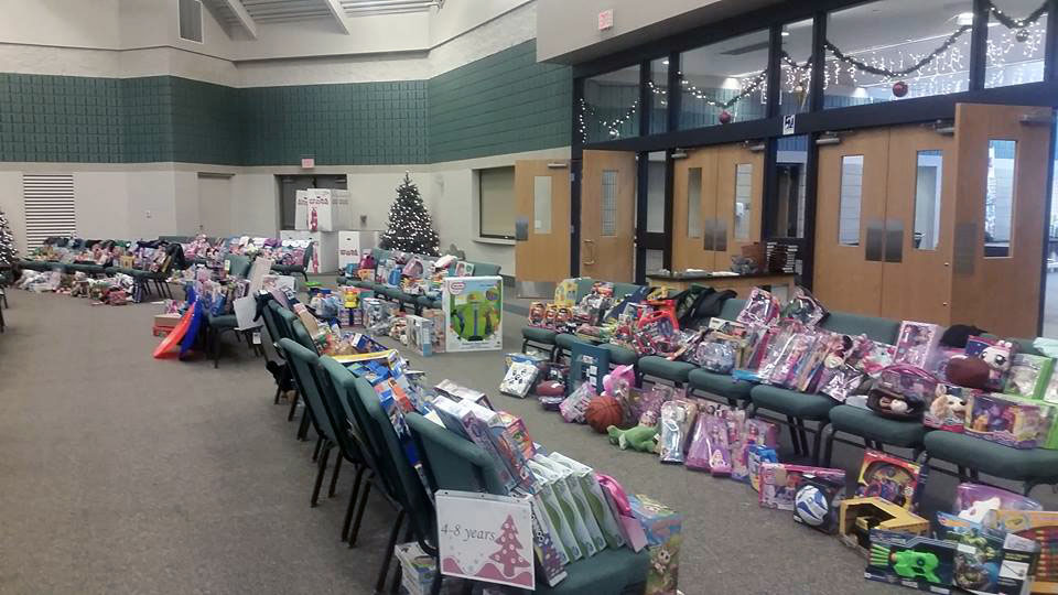 Allendale Schools Holiday Helpers - provided Christmas for 29 families, 90 children