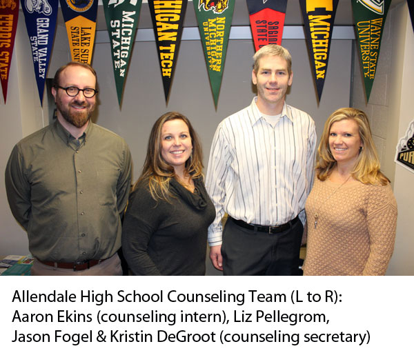 Allendale High School Counseling Team