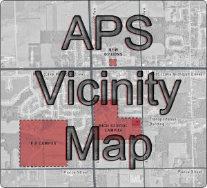 Allendale Public School Vicinity Map