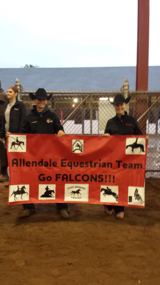 Allendale Senior HIgh Equestrian Team