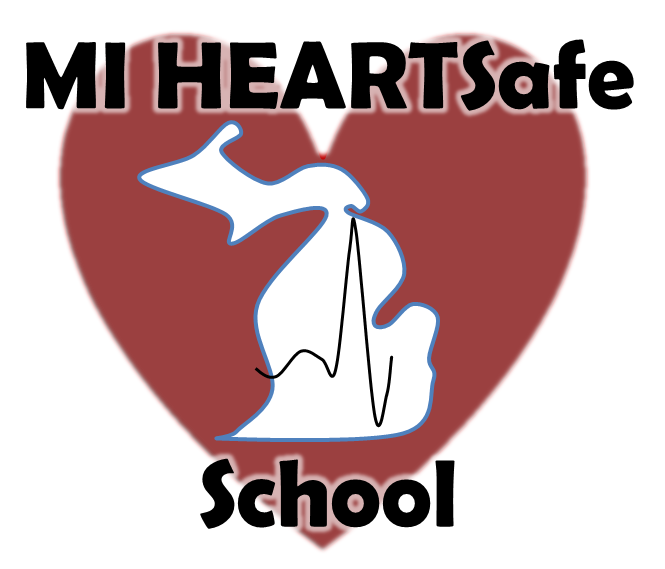 MI HEARTSafe School logo